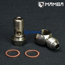 Banjo Bolt Kit 6AN to M14x1.5 Turbo Water coolant Garrett GT25R GT28R GT30R