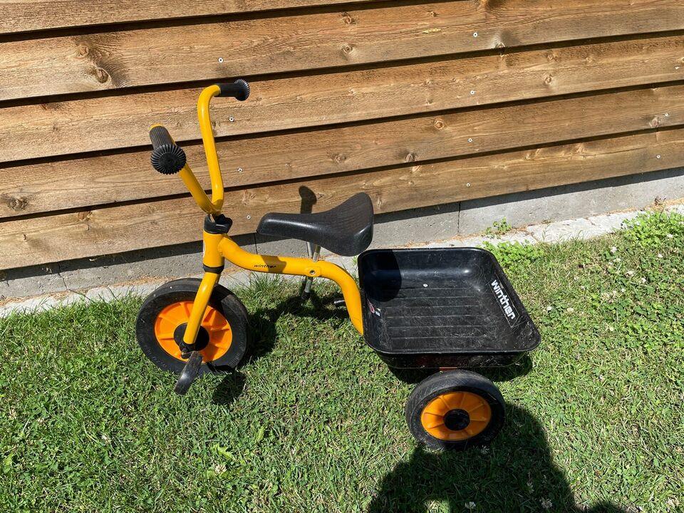 Drengecykel, trehjulet, Winther