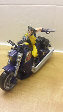 MARVEL WOLVERINE FIGURE ON BIKE WITH SOUND EFFECTS USED