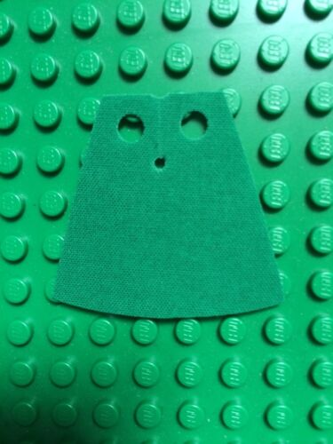 1 custom cape  made to fit  lego minifigs  Lord Of The Rings Light Green Hobbit