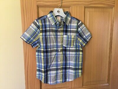 NWT Gymboree Boys Striped Long Sleeve Button Down Shirt Easter Outlet Blue