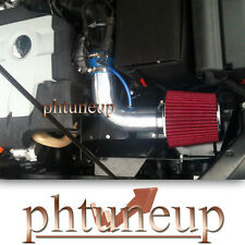 2007-2012 VW BEETLE EOS TIGUAN 2.0 2.0L HEATSHIELD AIR INTAKE KIT SYSTEMS BLUE