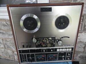 VTG-Akai-GX-285D-Glass-amp-X-039-TAL-Ferrite-Head-Reel-Reel-Tape-Player-Recorder