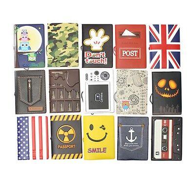 Travel Passport Holder Document Ticket Protector Cover Case Organizer Wallet Bag