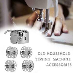 BOBBIN CASE+4 BOBBINS FOR Newhome Toyota+ Domestic Sewing Machine SHUTTLE HOOK