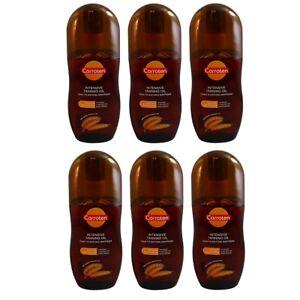 Carroten Tanning Oil SPF0 125ml 4.23oz Pack of 6