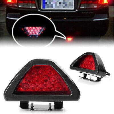 Red Taillight Strobe Fog DRL Flash Lamp 12 LED Car Rear Tail Brake Stop Light