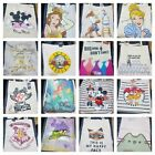 Disney Ladies Canvas Shopper Tote bag shopping cotton bag holiday Primark summer
