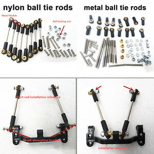 Nylon-Metal-Ball-Tie-Rod-Upgrade-Parts-for-1-12-MN-Model-D90-D91-RC-Truck-Car
