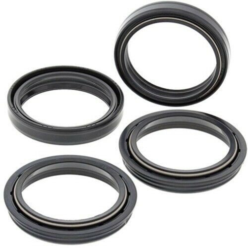 All Balls Racing Fork Oil Seal Dust Wiper Seal Kit 56-142 41-7127 22-56142 47mm