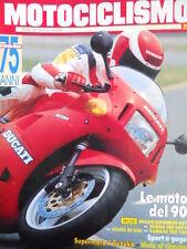 Motociclismo n°10 1989 Test Ducati Superbike 851 - Honda CBR 600 F  [GS49]