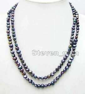 Fashion-Natural-Black-6-7mm-Baroque-Pearl-Necklace-for-Women-Long-Necklace-40-034