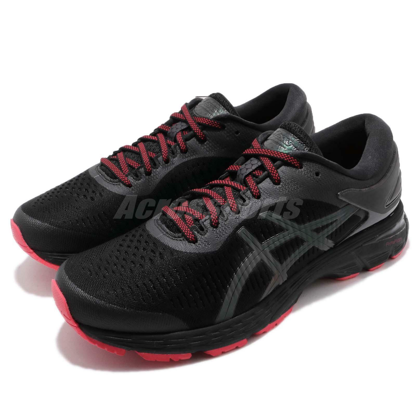 Asics Gel-Kayano 25 Lite-Show Shoes Black Reflective Men Running Shoes Lite-Show 1011A022-001 2fe0d6