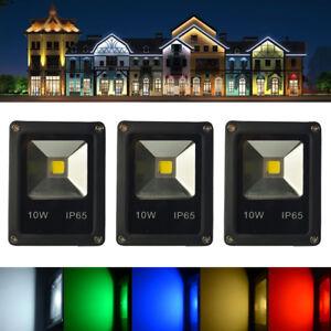 Projecteur-LED-10W-LED-Lampe-Eclairage-Jardin-Etanche-IP65-RGB-bleu-rouge-Blanc