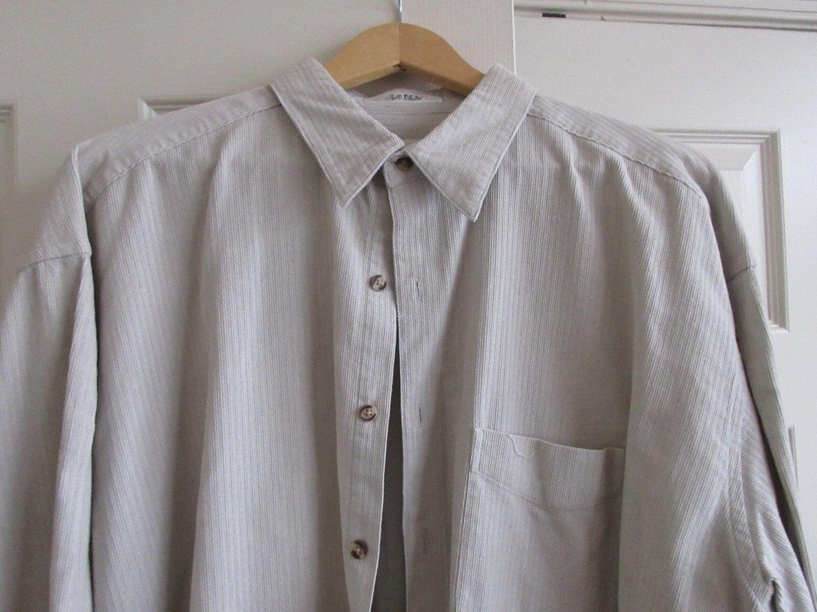Perry Ellis , Men's Sweater / Jacket , Size XL , Tan /