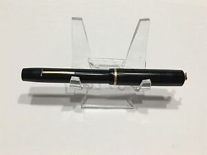 Vintage Sheaffer Ringtop Black GFT 3-25 Nib Fountain Pen Rare.