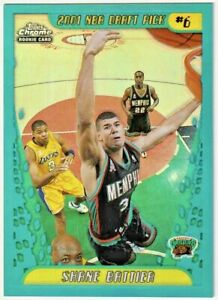 2001-02 Topps Chrome Refractors #134 Shane Battier RC