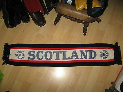 Scotland Soccer Scarf - Vintage 1978 FIFA Argentina Football Team Knit Scarf