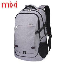 "Mixi 20"" Man's Laptop Computer Backpack School Book Bag Travel Bag Work Daypack"