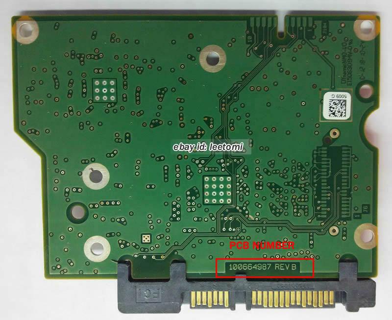ST32000528AS ST32000542AS ST31500541AS HDD PCB 100574451 REV A//B