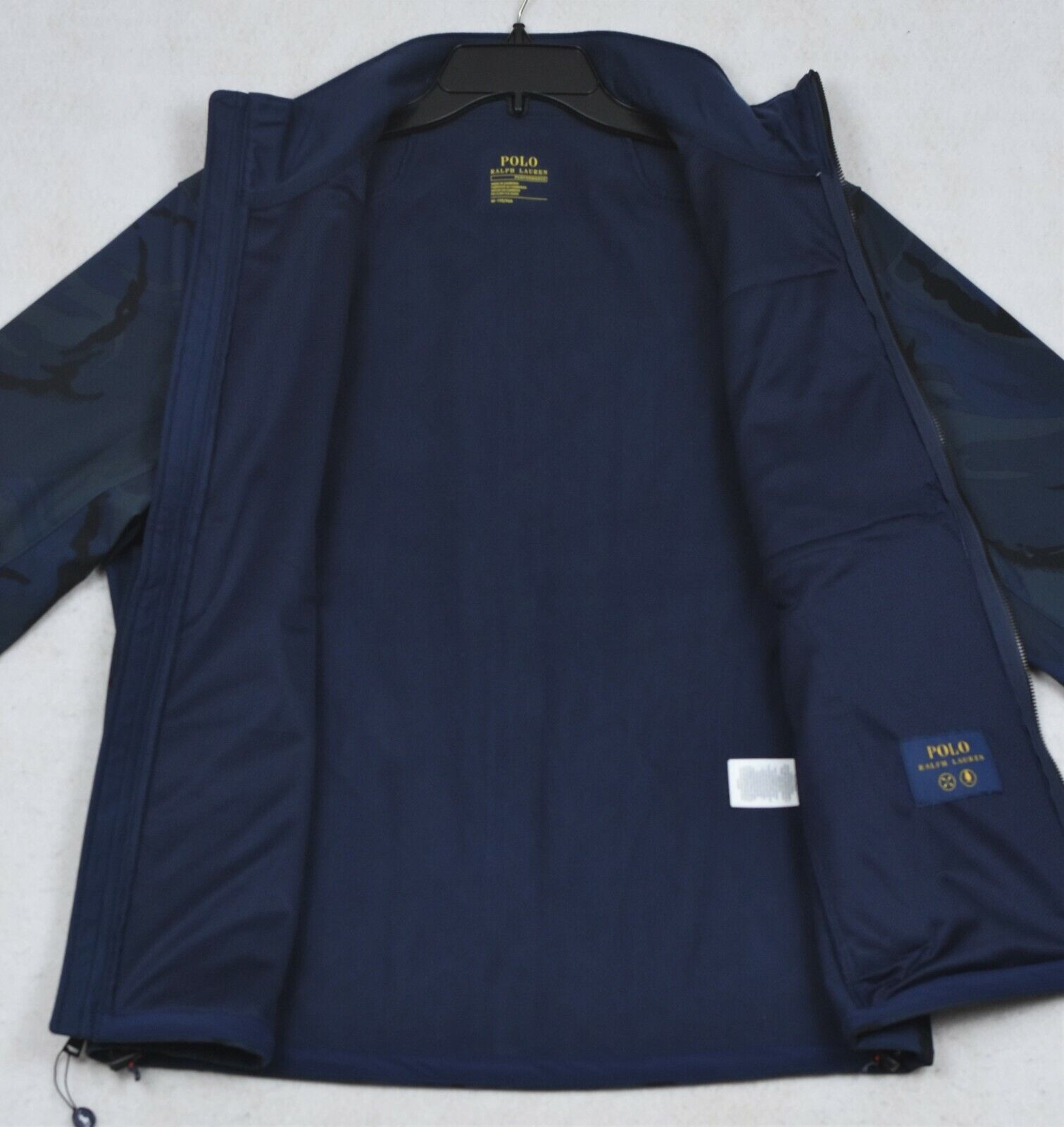 New Polo Ralph Lauren Performance 3XLT Tall Black Cotton