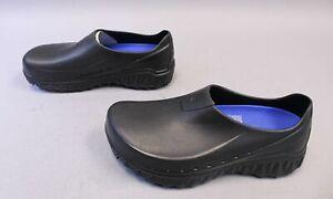 Shoes-For-Crews-Men-039-s-Bloodstone-Slip-Resistant-Clogs-HD3-Black-62101-Size-US-9