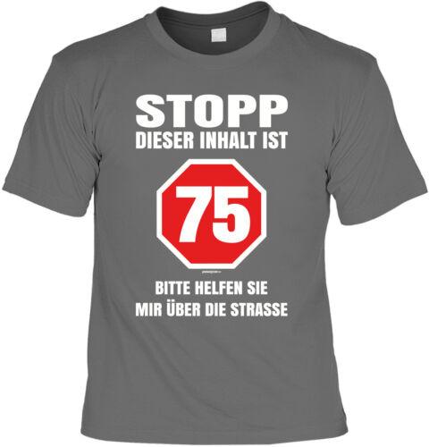 T-shirt au 75 75 ans-anniversaire shirt 75 Cadeau Chemise 75ig anniversaire
