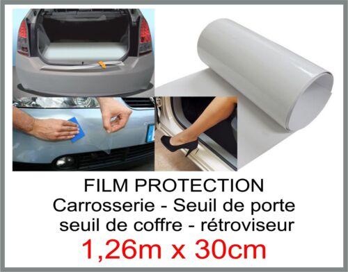 film protection carrosserie seuil de coffre rétroviseur seuil de porte