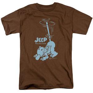 Popeye Jeep Dog Stirring Up TROUBLE Licensed BOYS /& GIRLS T-Shirt S-XL
