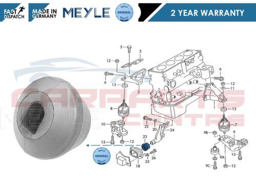 FOR Passat A4 Superb 00-05 MEYLE Anti Torque Mount Engine Mounting Rubber Buffer