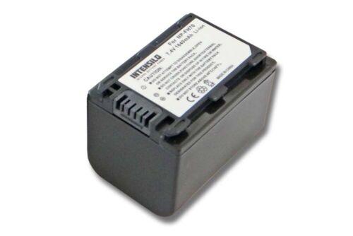 Akku 1.640mAh für SONY Handycam DCR-DVD115E NP-FH70