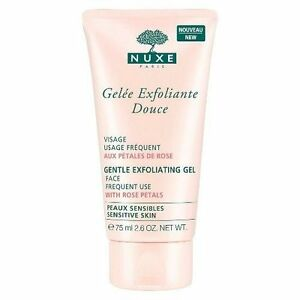 NUXE Gentle Exfoliating Gel for Sensitive Skin, 2.6 oz Humco Glycerin USP 6 oz (Pack of 6)