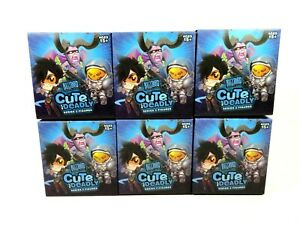 Blizzard-Cute-But-Deadly-Series-2-Lot-of-6-Random-Blind-Figure-Boxes-NEW-Sealed