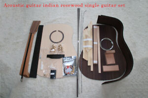 Details About 1 Set Diy Unfinished Acoustic Guitar Style Guitar Kit