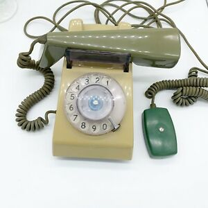 1969 1 722f Mod Grey Green Rotary Trimphone Telephone Uk Ebay