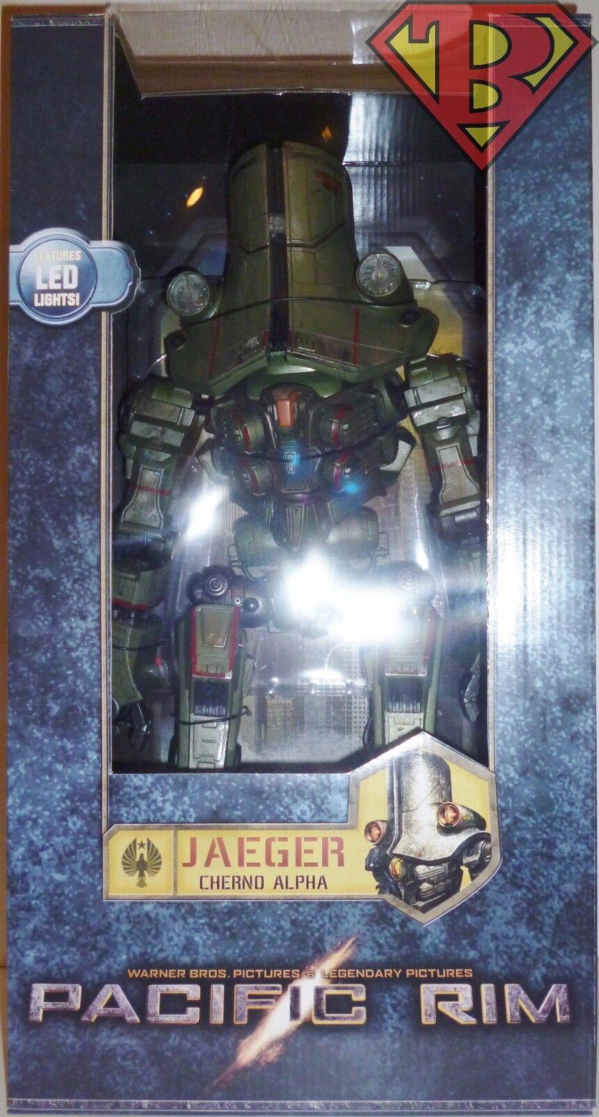 Jaeger Cherno Alpha Pacific Rim 18  pulgadas 1 4 Escala Figura De Película LED Neca 2013