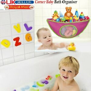 Baby Bath Toys for Kids Waterproof Adjustable Storage Bag Pouch Holder