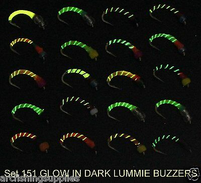 for fly fishing. 12 or 14 SET 3A in Hook sizes # 10 EPOXY BUZZER Trout Fishing flies X 20 Flies