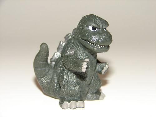 SD Disguised Mecha Godzilla /'74 Figure from Godzilla Soukougeki Set Gamera