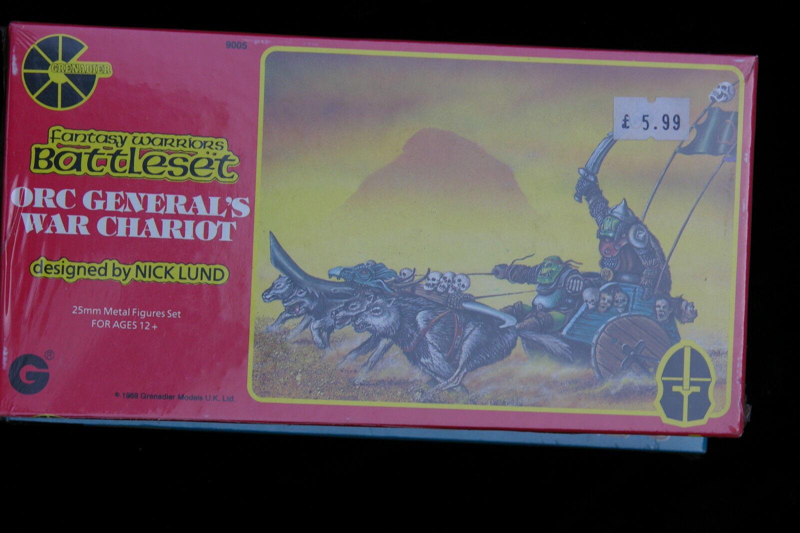 Grenadier modellllerler fantasi Guerriers, Orc G 6553333,