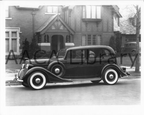 Factory Photo Ref. #53222 1935 Lincoln Three Window Sedan Picture