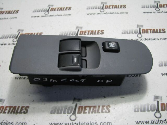 Mitsubishi Colt Window switch unit drivers right side 2003 used 8608A075