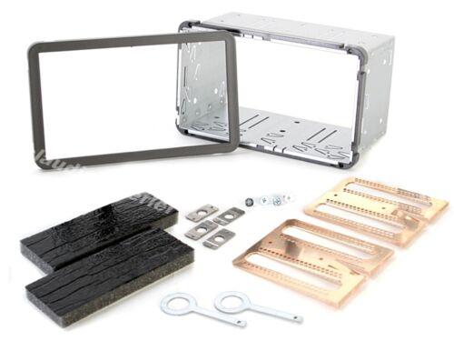 ALFA 159 2005-2012 Autoradio Kit De Montage Double DIN panneau façade radio noir