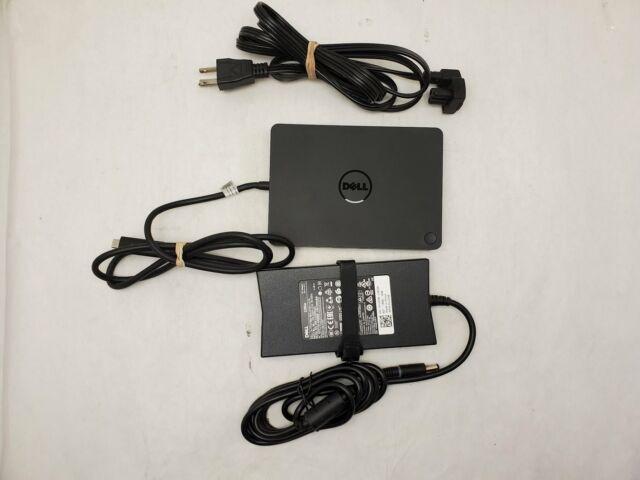 Dell K17A001 WD15 Docking Station Thunderbolt USB-C 4K Dock w/130W AC Adapter