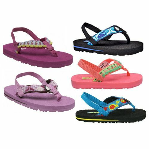TEVA HULA MUSH FLIPFLOPS 20.5 NEW 25 children sandal bathing sandal baby shoes
