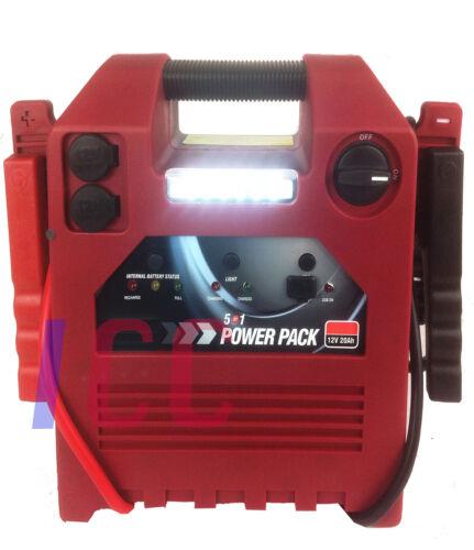 12V Batería de coche Booster H Compresor bomba deber Portátil Power Pack Jump Starter