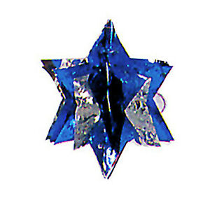 Hanukkah decoration 3d star of david blue silver for 3d star decoration
