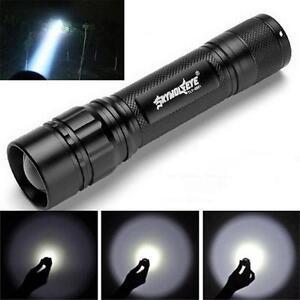 Powerful-3000-Lumens-3-Modes-XML-T6-LED-18650-Flashlight-Torch-Lamp-Black