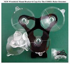1 Cobra Radar Detectors Windshield Mount Bracket 6 Cup for The Recent Models