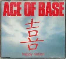 Ace Of Base - Happy Nation 3 Tracks Cd Ottimo